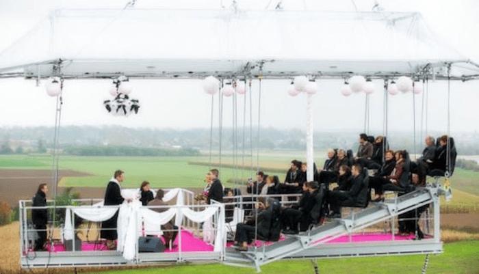 海外の変わった結婚式