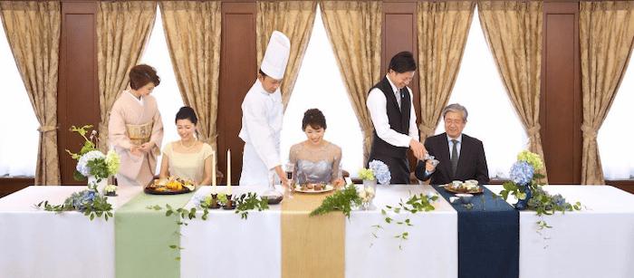千草ホテル フルコース試食