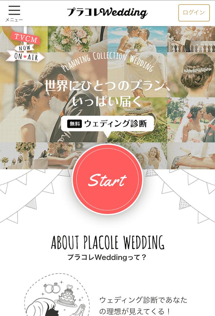 プラコレ 結婚式診断